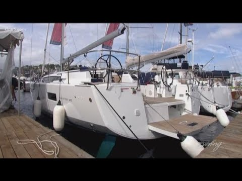 Team Evening sets sail on a new yacht, a Jeanneau Sun Odyssey 490 - KING 5  Evening