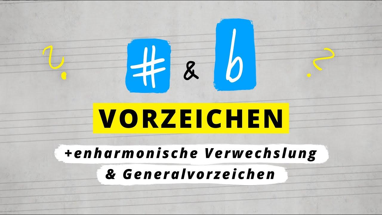 Vorzeichen, Verwechslung und Generäle - Maxmachtmusik #06 - YouTube