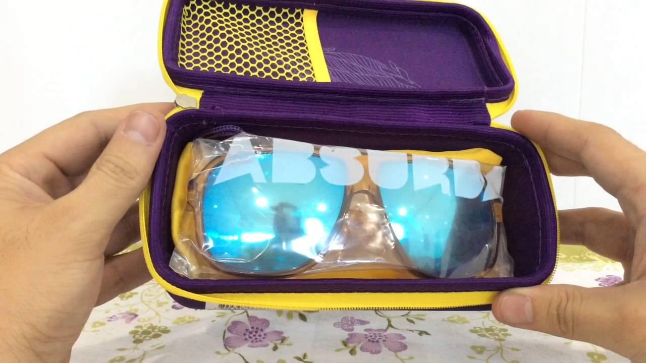 Unboxing Óculos Absurda Calixto Lente Espelhada (PT-BR) HD - YouTube 4fd8e44d1f