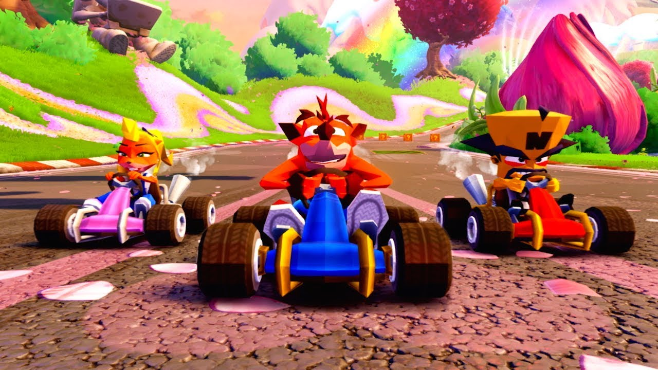 Crash Team Racing Nitro-Fueled – PS4 Exclusives & CNK Content Reveal Trailer - Crash Bandicoot