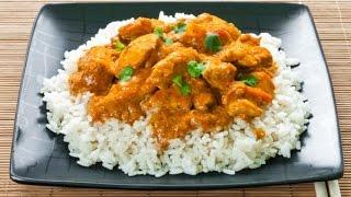 Рис с соусом карри
