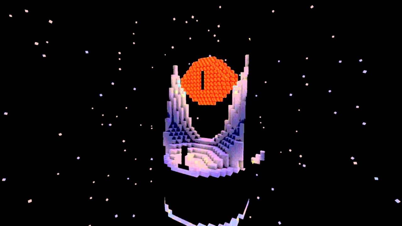 Minecraft Baraddûr The Eye Of Sauron YouTube