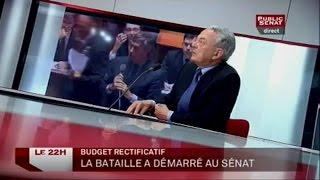Invités : Claude Dilain, Philippe Dallier, Jean Arthuis et Alain Vidalies - Le 22H (25/07/2012)