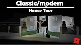 Classic/Modern House! - House Tour| Roblox - Bloxburg #4