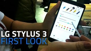 LG Stylus 3 First Look | Mid-range Smartphone with Stylus Pen