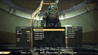 Fallout 76 - Excavator Power Armor Blueprint Walkthrough