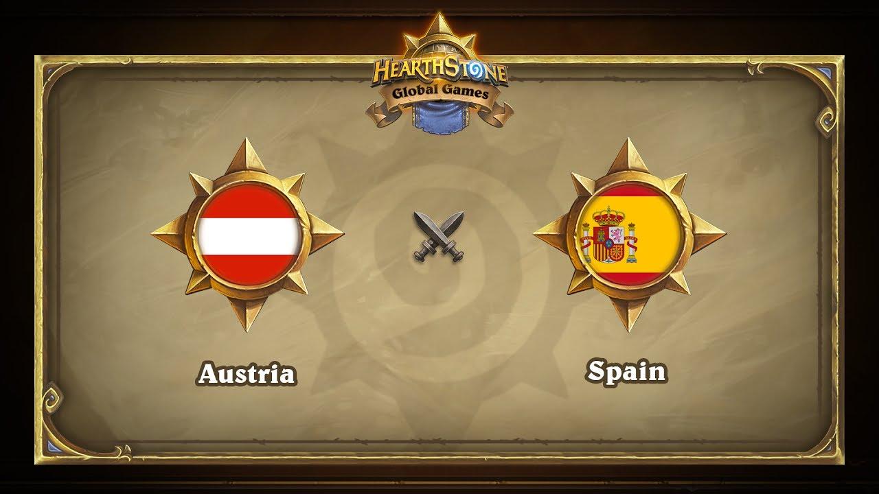 Австрия vs Испания |  Austria vs Spain | Hearthstone Global Games (31.05.2017)