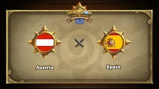 Австрия vs Испания |  Austria vs Spain | Hearthstone Global Games (31.05.2017)