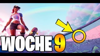 Fortnite: Geheimer BATTLE PASS STERN - Season 9 Woche 9 Secret Ladebildschirm Deutsch