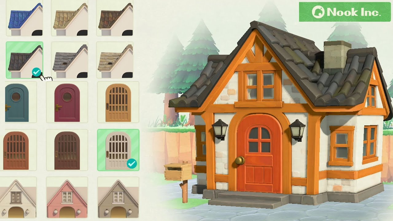 Animal Crossing New Horizons House Customization