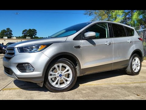 2017 Ford Escape Se 2 0l Ecoboost Start Up In Depth Review
