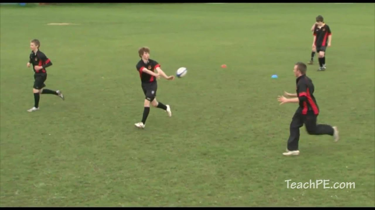 Basic Rugby Drills Line Drill
