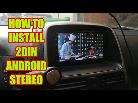 HOW TO INSTALL 2DIN ANDROID CAR STEREO ON HONDA CRV