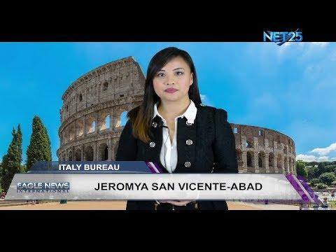 EAGLE NEWS ITALY BUREAU NOVEMBER 3, 2017