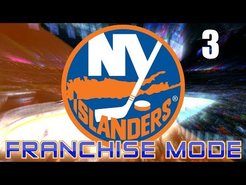 2018 PLAYOFFS ROUND 1 - NHL 18 New York Islanders Franchise Mode Ep.3
