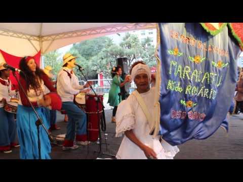Maracatu Porto de Luanda+Virada Cultural 2015