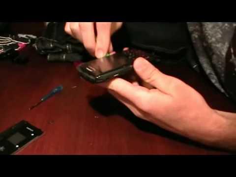 Blackberry 3G Pearl 9100 - 9105 / Striker / Stratus Disassembly Tutorial
