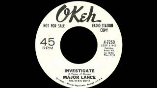 Major Lance - Investigate