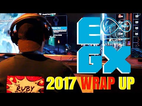 #EGX2017 UK's Biggest Gaming Festival  - Best Games and Coverage - The Ruby Tuesday