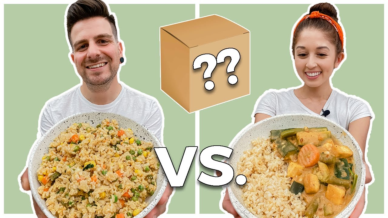 Boyfriend vs. Girlfriend Cooking Challenge