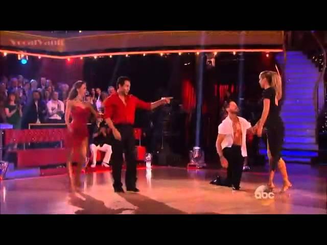 Corbin & Elizabeth   Cha Cha Dance Off   DWTS 17 Week 8