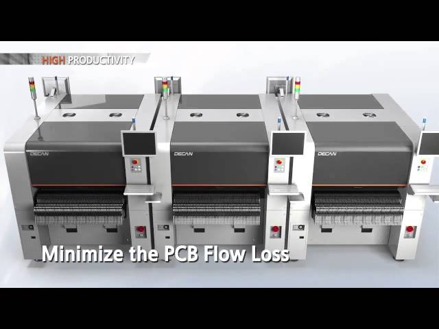 Hanwha Techwin - DECAN Series Pick and Place machines