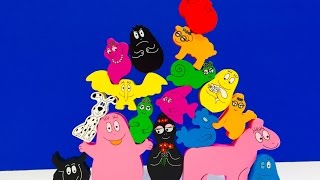 BARBAPAPA Toy Stacking and Bowling Puzzle Game empilage jeu de puzzle jouet