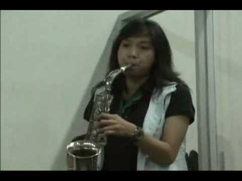 Trio Sax (Pdt. JE Awondatu, Albert Sumlang, Debora Angela) - Jan 13, 2009