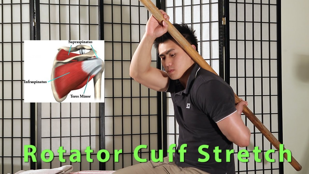Essential Rotator Cuff Stretches : Internal and External ...