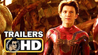AVENGERS: INFINITY WAR - All Official Trailers (2018) Marvel Movie HD - Продолжительность: 9 минут 6 секунд