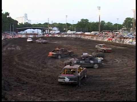 Ottawa County Fair Demolition Derby 7/21/2012