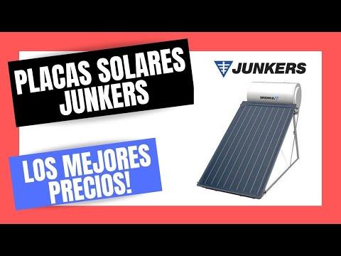 Como instalar placas solares junkers precios de captadores for Placas solares precios