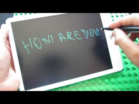 Unboxing 10 Inch Digital LCD Writing Tablet Handwriting Board