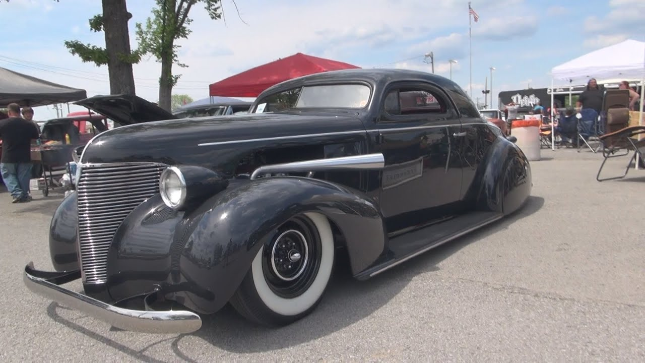 Chopped 1939 Chevy Coupe Hot Rod 2015 Redneck Rumble
