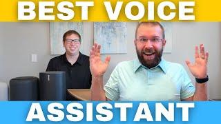 Which is best Voice Assistant? Amazon Alexa vs. Google vs. Apple Homepod Siri - Top Smart Speakers