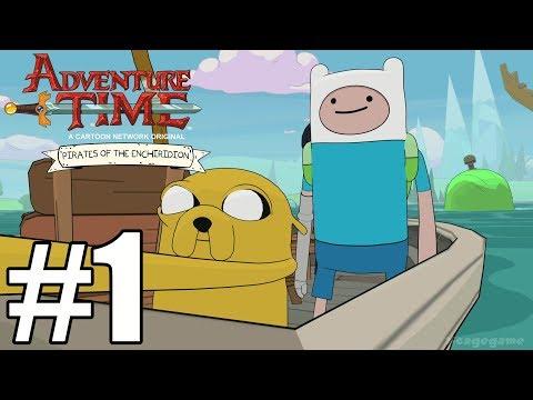 Adventure Time Pirates Of The Enchiridion - Gameplay Walkthrough Part 1