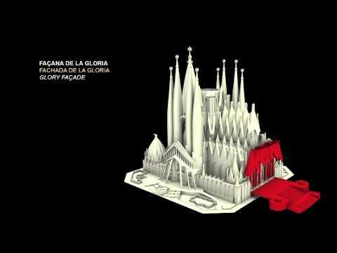2012 Completion of the Basilica    Acabem la Basílica   Se finaliza la Basílica (3D)