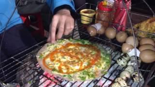Cách làm bánh tráng trứng nướng Đặc sản Đà Lạt, đơn giản, dễ làm