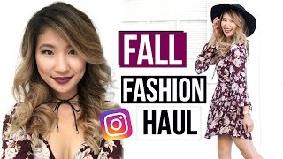 Fall Fashion Haul! My Instagram Style 2016!