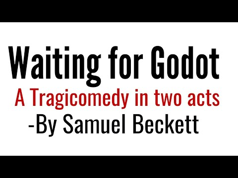 Waiting for Godot: Play by Samuel Beckett in Hindi summary, Explanation and full analysis