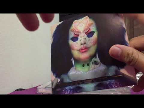 Björk - Utopia UK CD Jewel Case Edition Unboxing