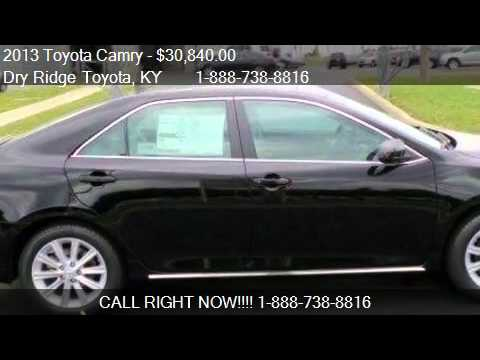 2013 toyota camry xle for sale in dry ridge ky 41035. Black Bedroom Furniture Sets. Home Design Ideas