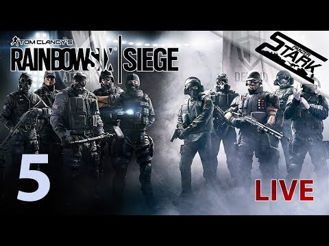 Rainbow Six Siege - 5.Rész (Beavatjuk Hekit :D) - Stark LIVE