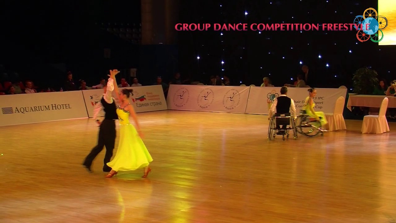 782cb7b67 #ThrowbackThursday Chinese Group Dance Freestyle at 2013 IPC Wheelchair  Dance Sport Continents Cup