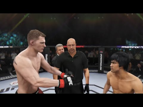 Alexander Volkov vs. Bruce Lee (EA sports UFC 3) - CPU vs. CPU