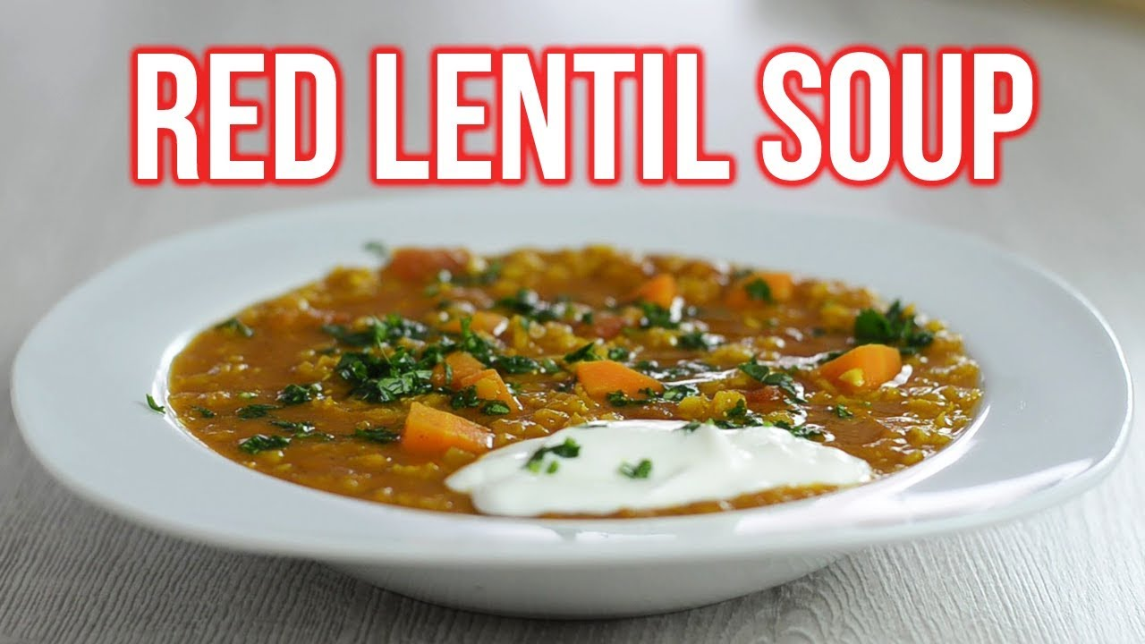 How To Make Curried Red Lentil Soup