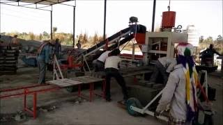 Automatic Fly Ash Brick Making Machine / 2000 Bricks per Hour