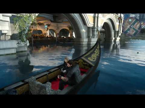 Final Fantasy 15 Get to Maagho Bar Altissia City