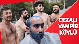VAMPİR & KÖYLÜ / SAÇINI SAKALINI MAVİYE BOYATMAK!