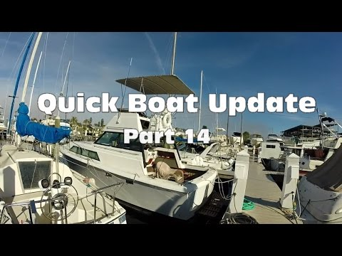 Quick Boat Update: Part 14 Cleaning Bilges